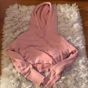 PacSun cropped hoodie